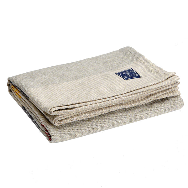 Recycled Cotton Throw Mango/Currant