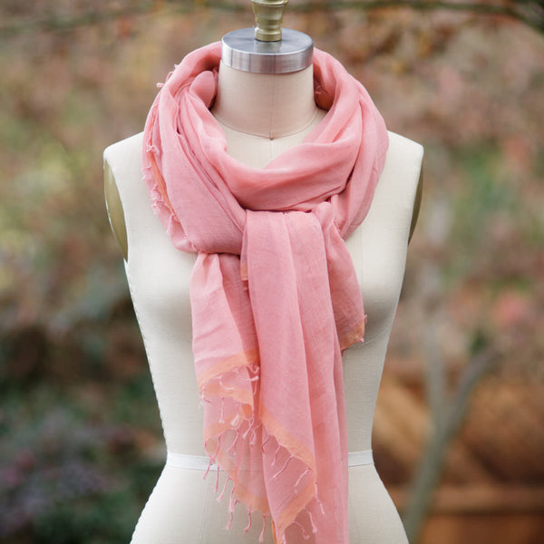 Whisper Strawberry Scarf