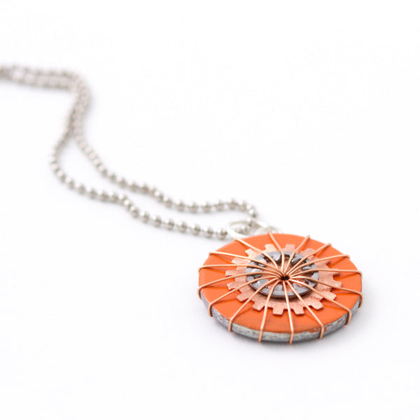 Shades of Orange Pendant