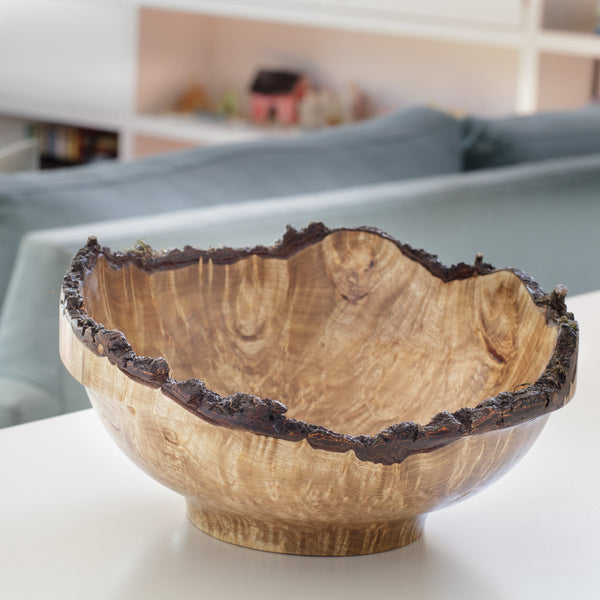 Hand-turned Small Natural Edge Bowl