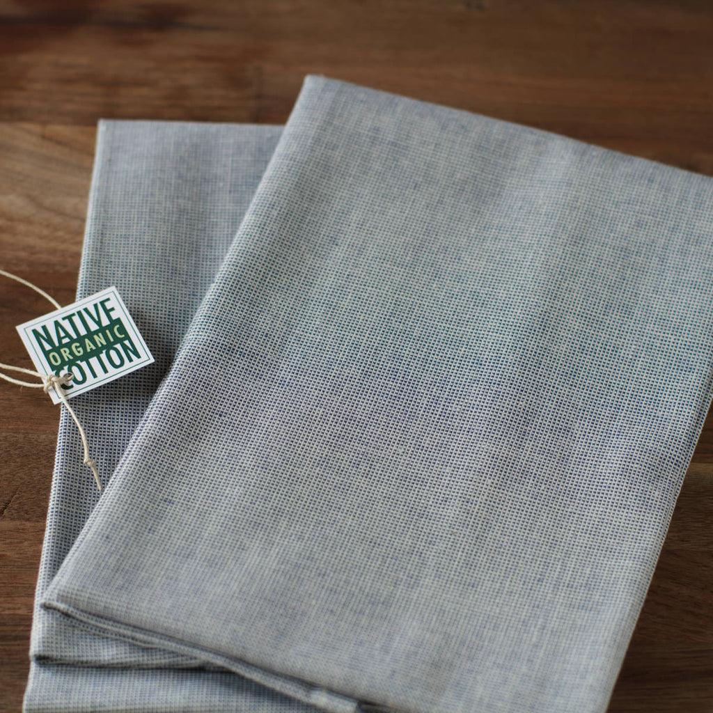 Genial ... Organic Cotton Tea Towels   Set Of 2 ...