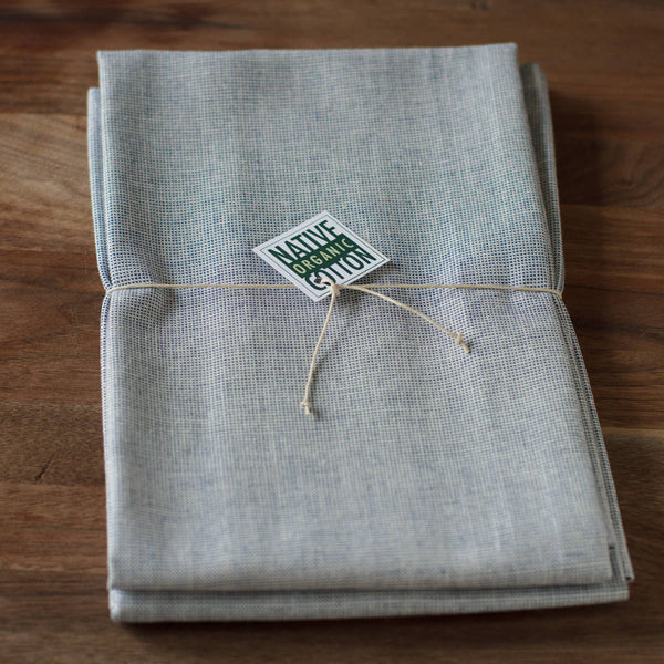 Organic Cotton Tea Towels - Set of 2