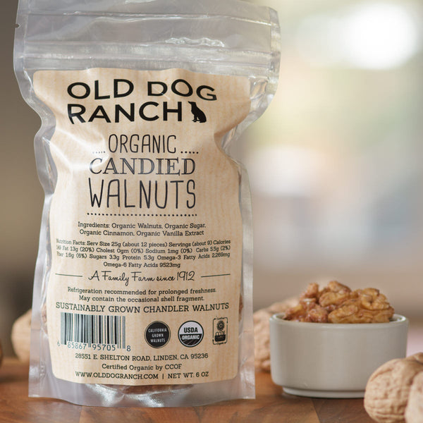 Organic Candied Walnuts