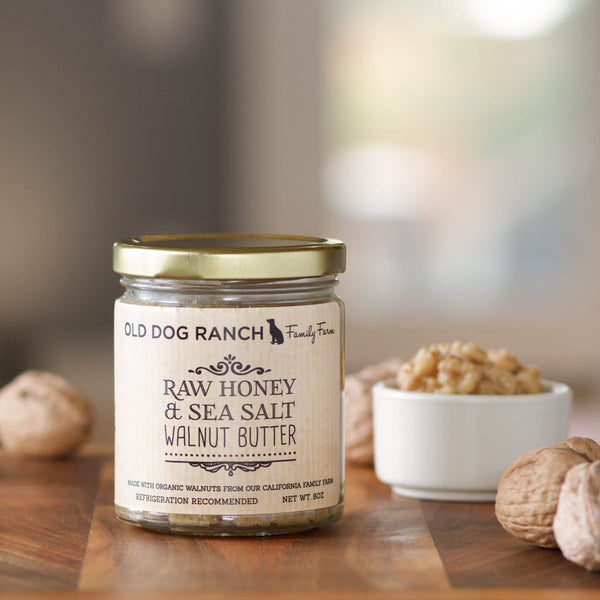 Organic Honey & Sea Salt Walnut Butter