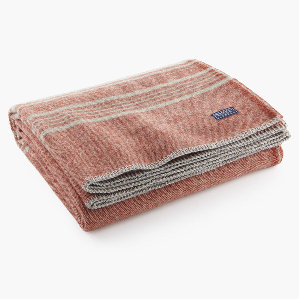 Weekender Stripe Wool Throw