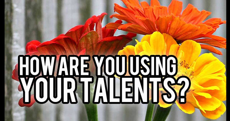 Talents image and a flower