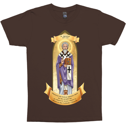 Catholic St. Ignatius Of Antioch Premium Graphic Tee