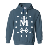 Miraculous Medal Symbol Catholic Graphic Hoodie