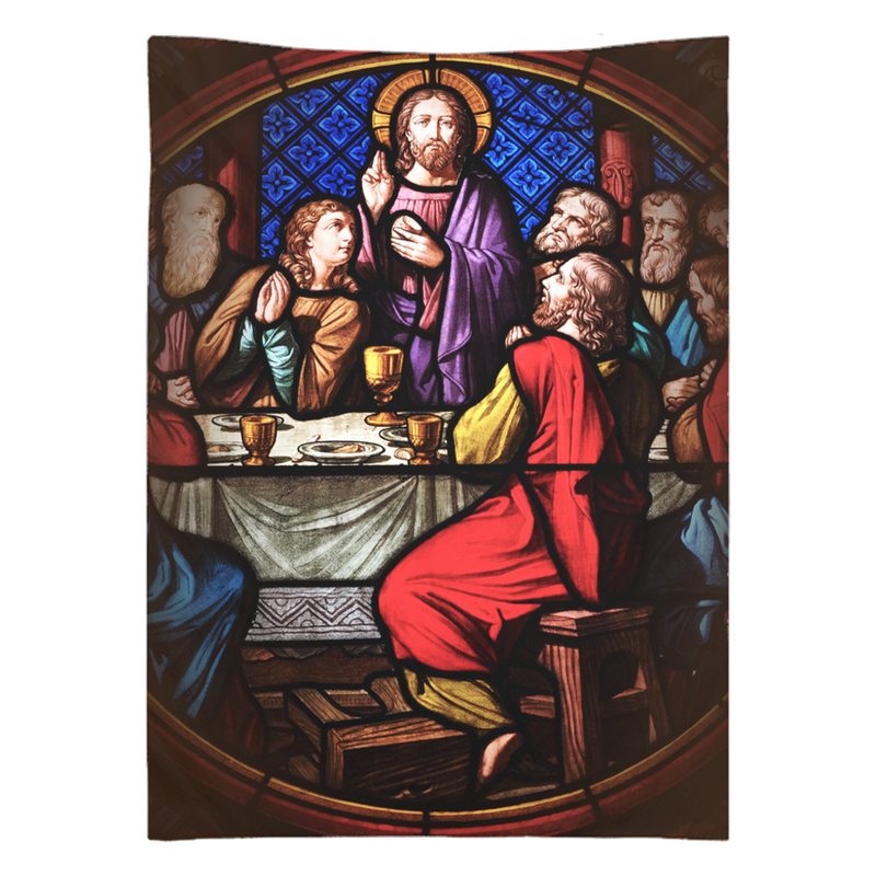 Last Supper 26x36 Inch Wall Tapestry