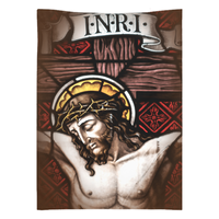 Crucifixion Good Friday 26x36 Inch Wall Tapestry
