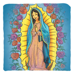 Our Lady Of Guadalupe/Hail Mary Prayer Pillow Cover (No Pillow)