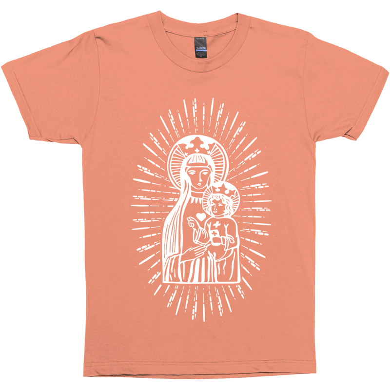 Madonna With Child Premium Graphic Tee