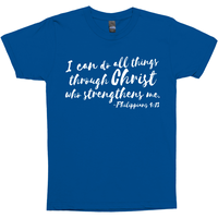 I Can Do All Things Philippians 4:13 Premium Graphic Tee