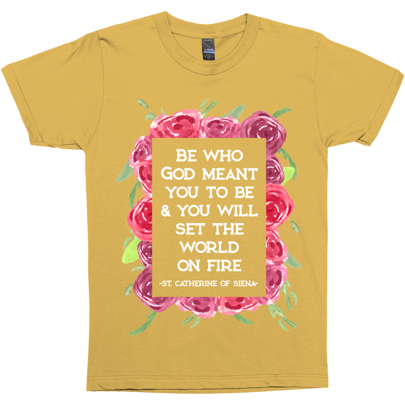 St. Catherine Of Siena Quote Premium Graphic Tee