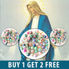 Image of Buy 1 Get 2 Free Beautiful Catholic Colorful Rosary