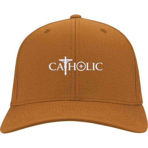 Catholic Symbols Twill Cap