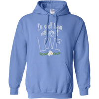 Mother Teresa Quote Pullover Hoodie