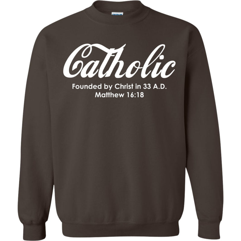 Catholic Pullover Sweatshirt