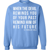 St. Teresa of Avila Quote Pullover Sweatshirt
