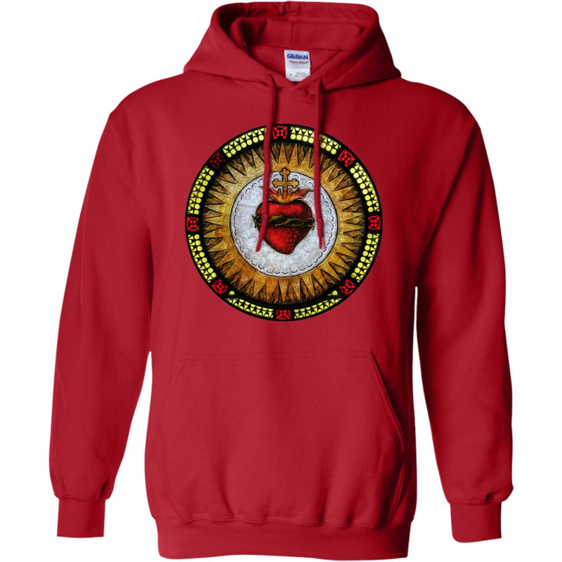 Sacred Heart Pullover Hoodie