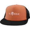 Image of Catholic Symbols Trucker Hat with Snapback