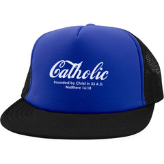 Catholic Trucker Hat with Snapback