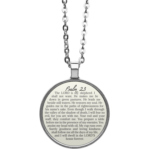 Psalm 23 Necklace