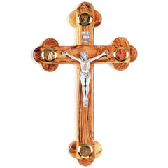 Beautiful Holy Land Wall Crucifix