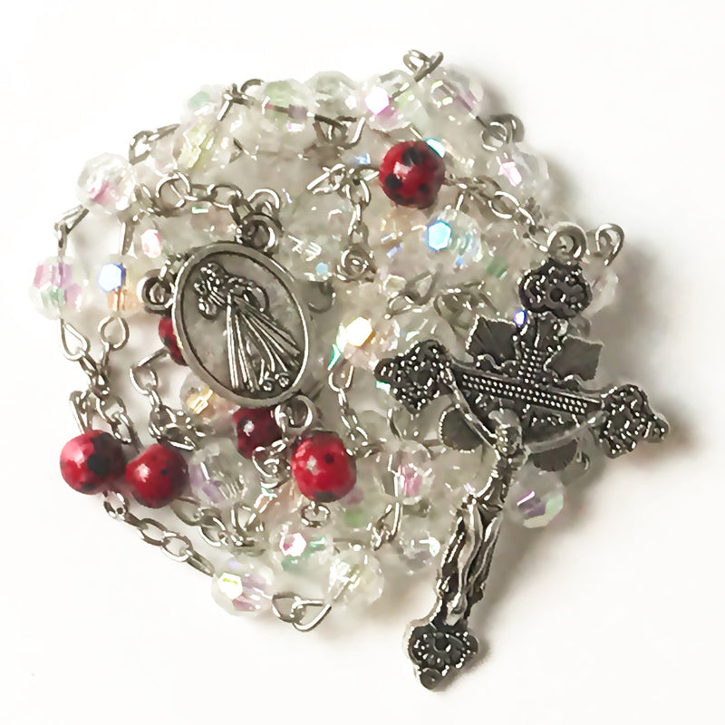 Divine Mercy Grace Rosary by Risen Rosaries