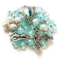 Limited Edition Our Lady Of Grace Luminous Rosary