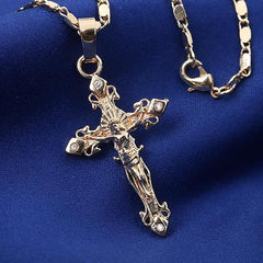 Sacred Love of Jesus Catholic Crucifix