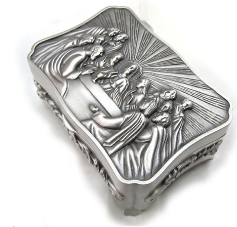 Last Supper Rosary/Jewelry Box