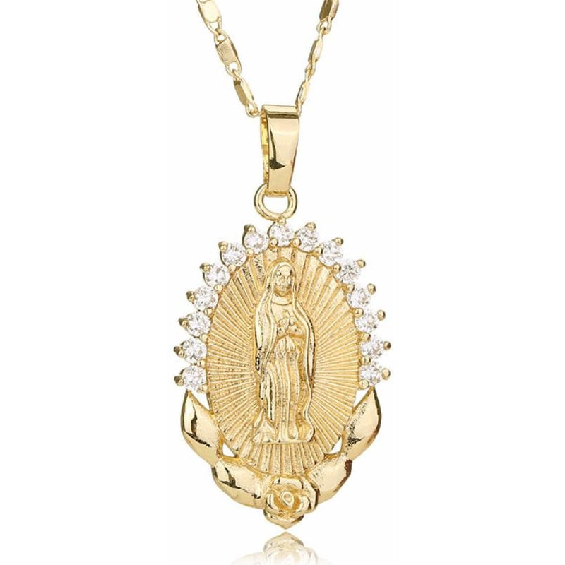 virgin marry necklace image