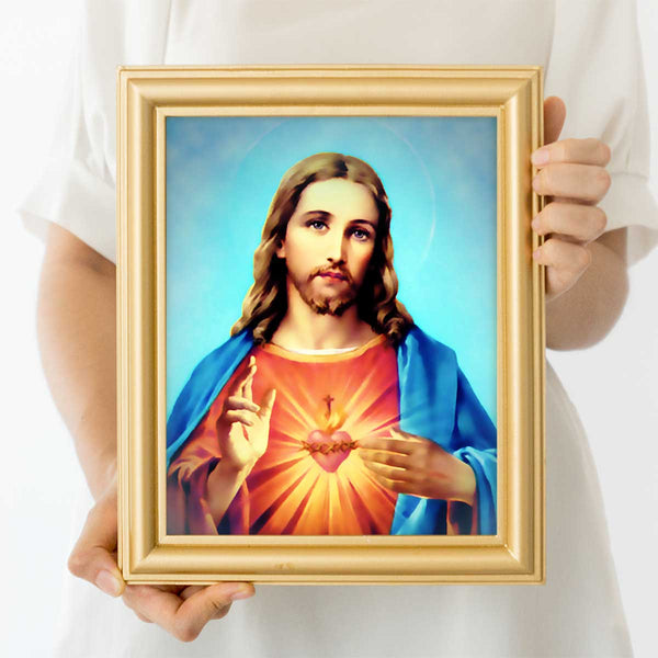 Sacred Heart Of Jesus Wall Art Print