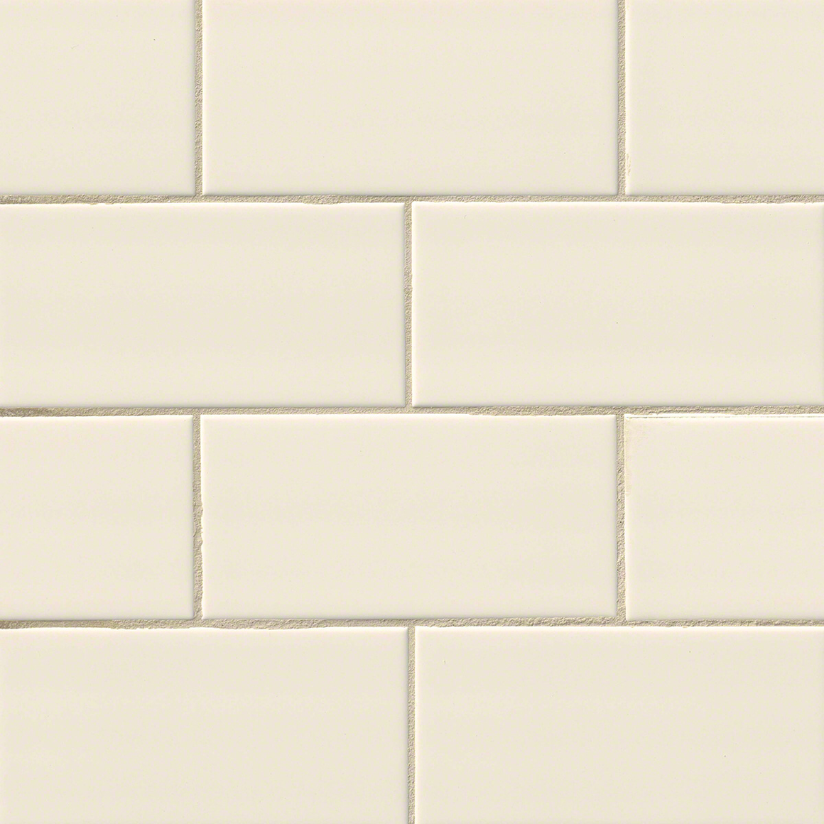 MO104 Almond Glossy subway tile
