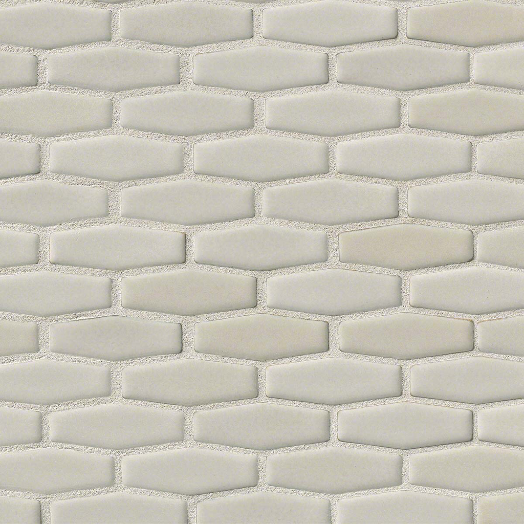 MO114 White Hex 8mm