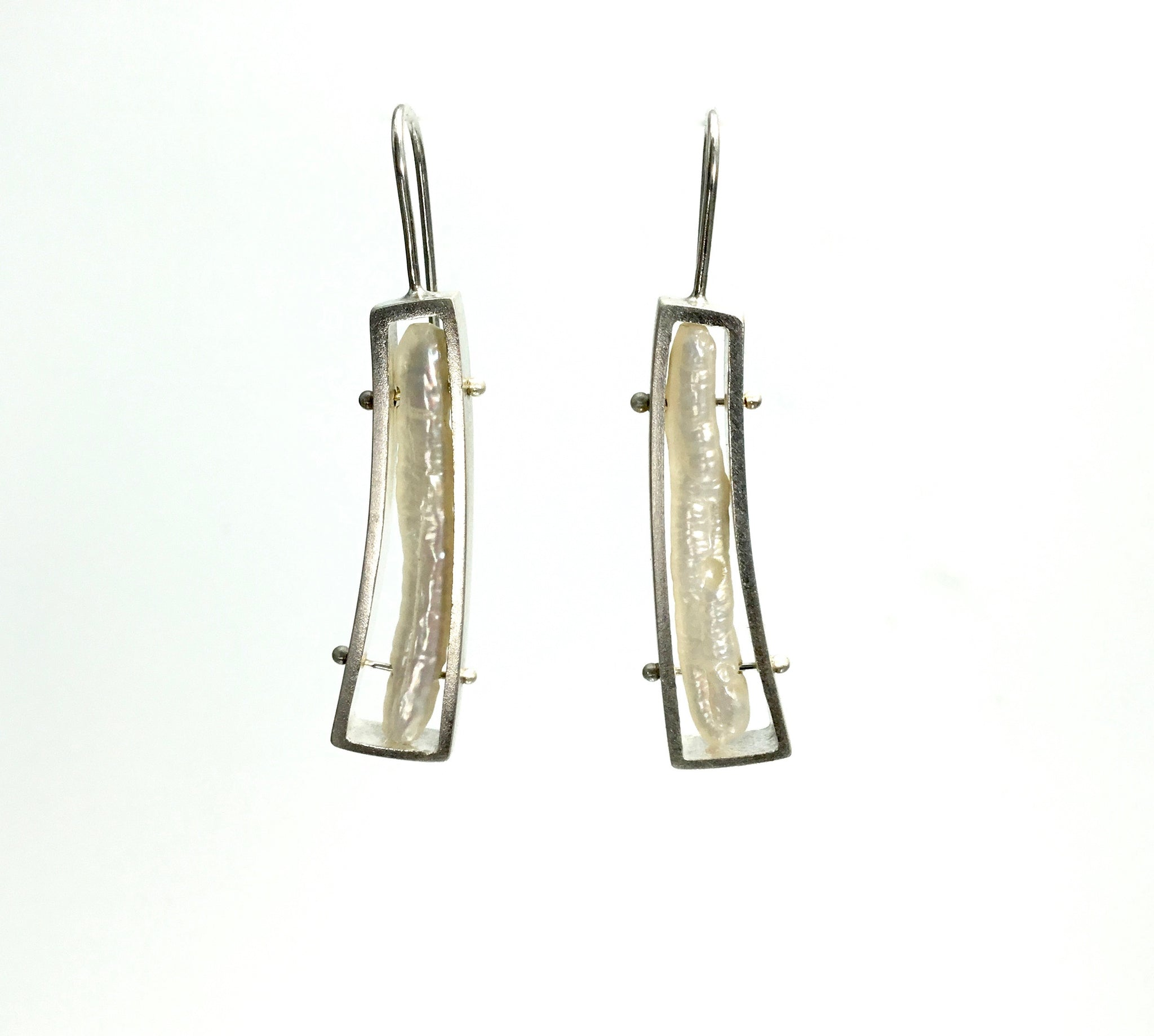 Ashka Dymel Wedge Earrings