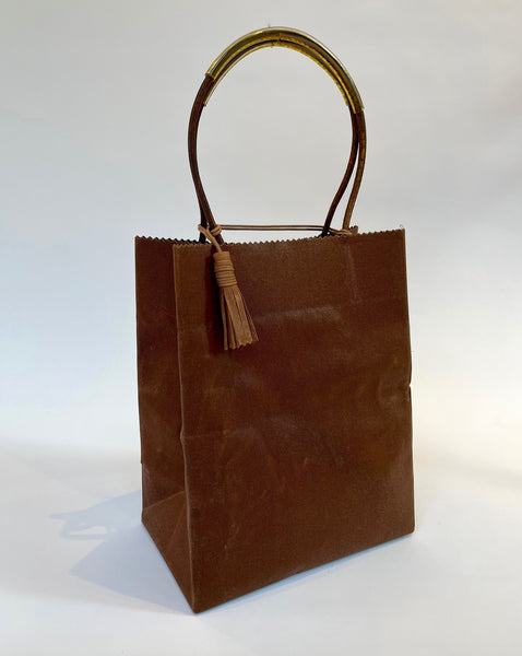Brave Brown Bag Midi in Cedar