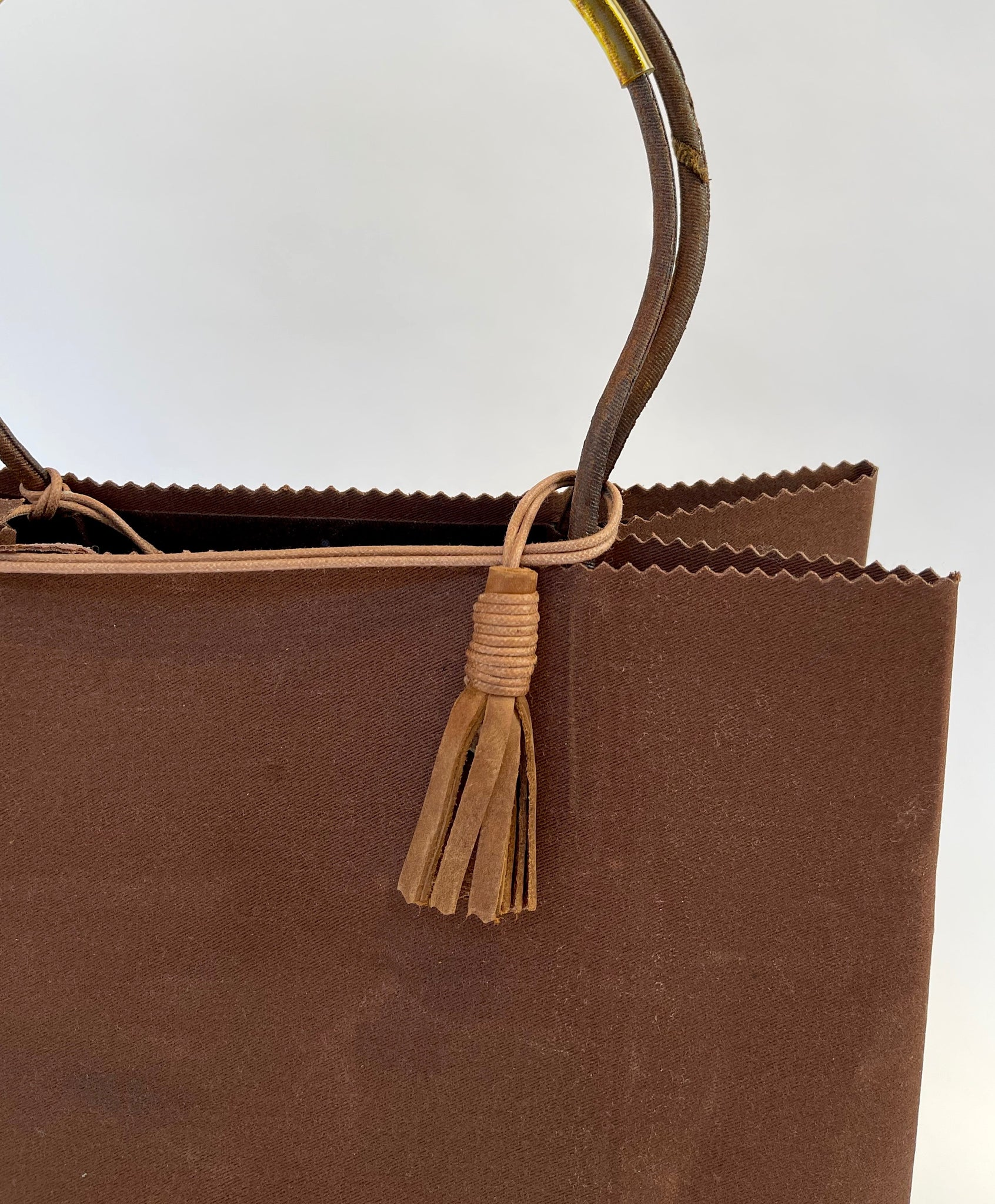 Brave Brown Bag Maxi in Chestnut