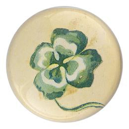 John Derian Fancy Clover Dome Paperweight