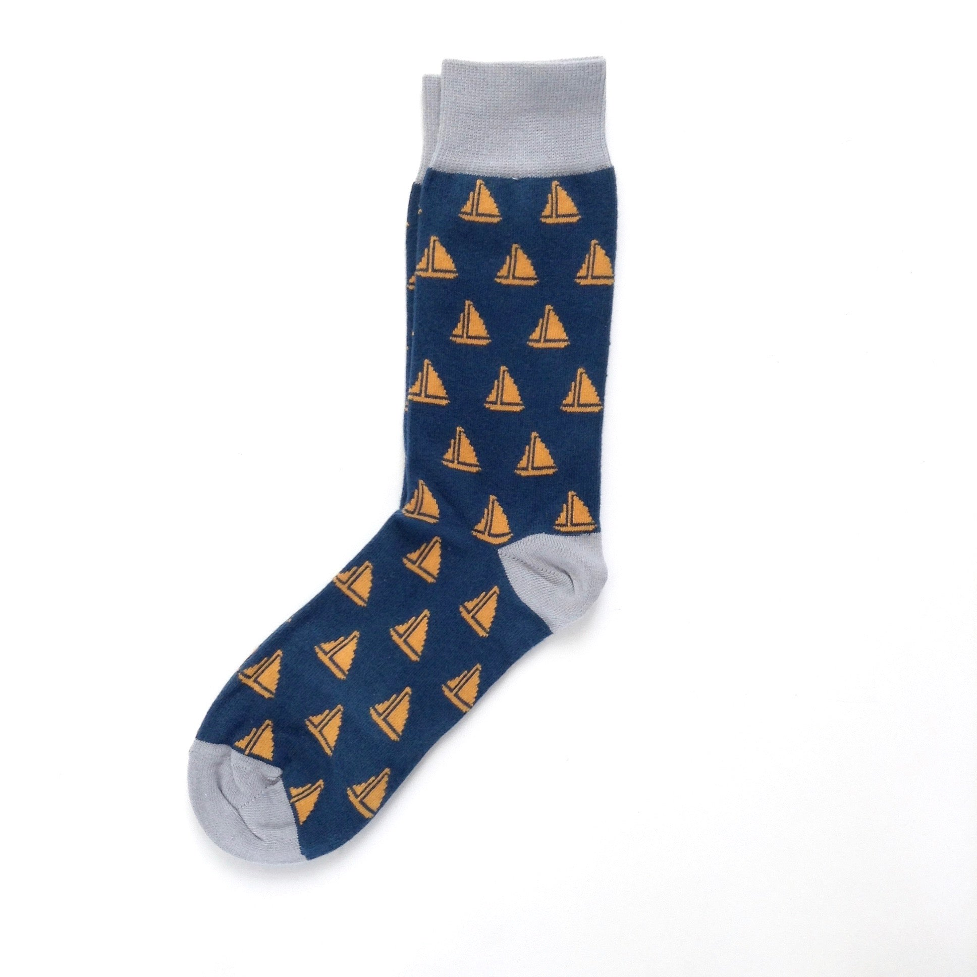 Catherine Tough Men's Sailboat Socks