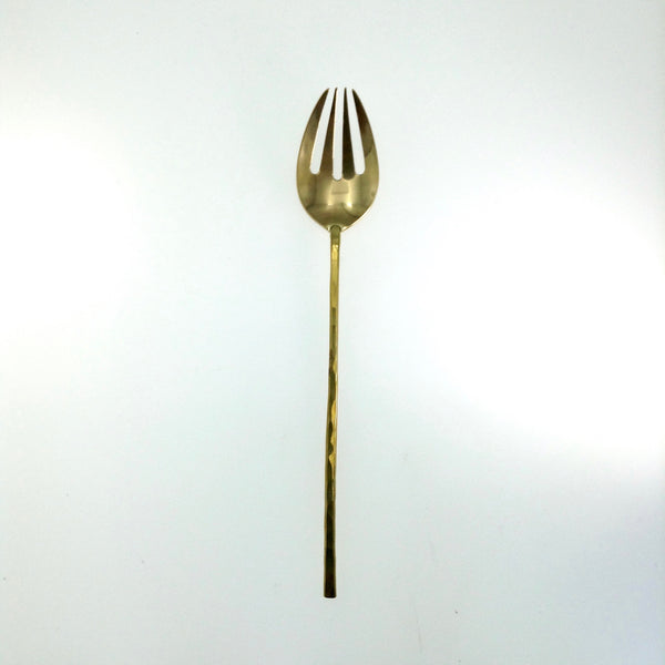 Japanese Brass Dinner Fork