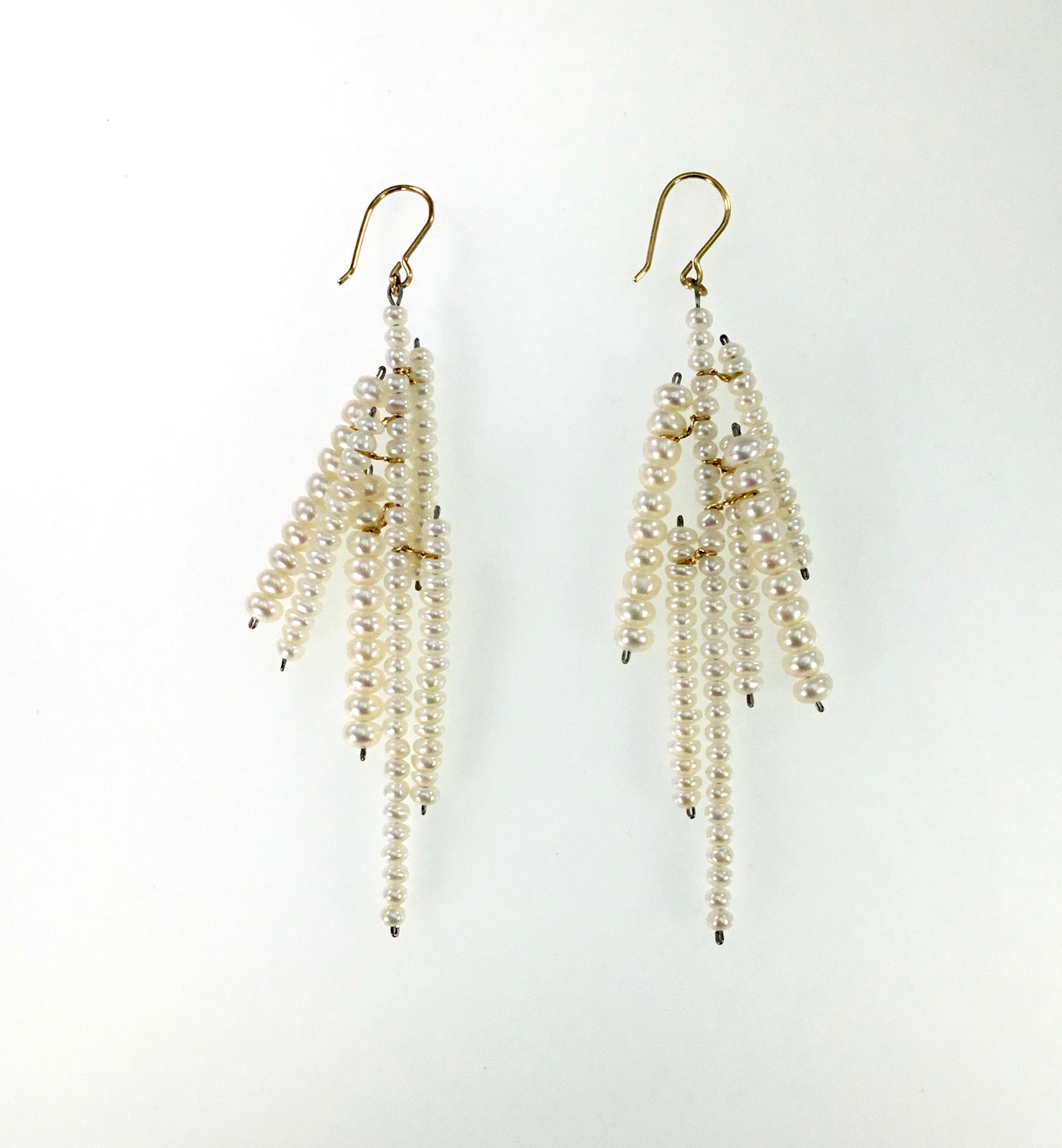 Estyn Hulbert Long Icicle Earrings