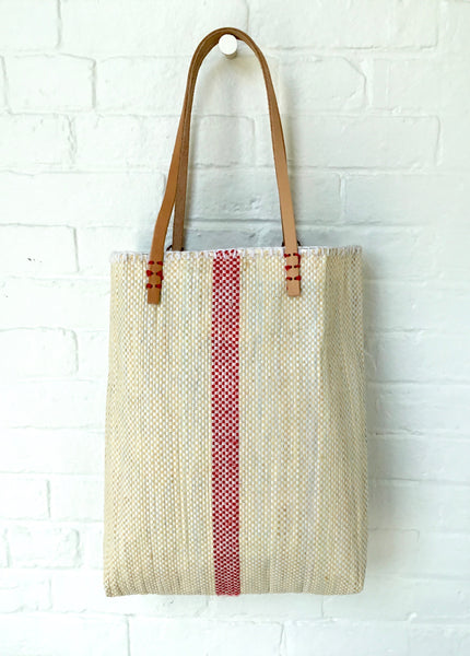 En Shalla Tote Bag with Red Stripe