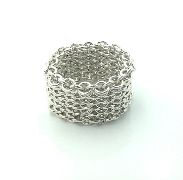 Alison Evans Sterling Silver Ring