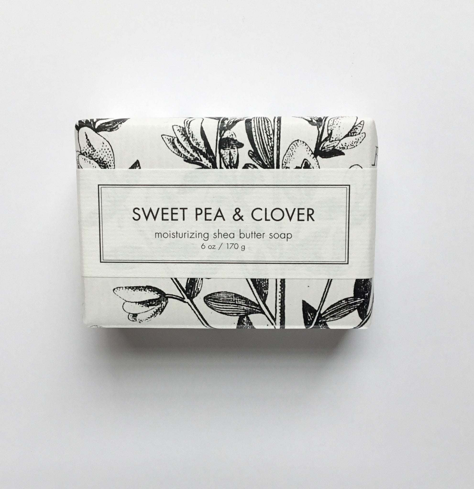 Formulary 55 Sweet Pea and Clover Shea Butter Soap