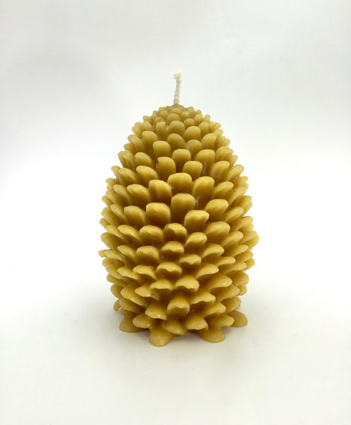 Greentree Jumbo Pinecone Candle in Natural