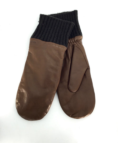Hestra Tina Mittens in Brown