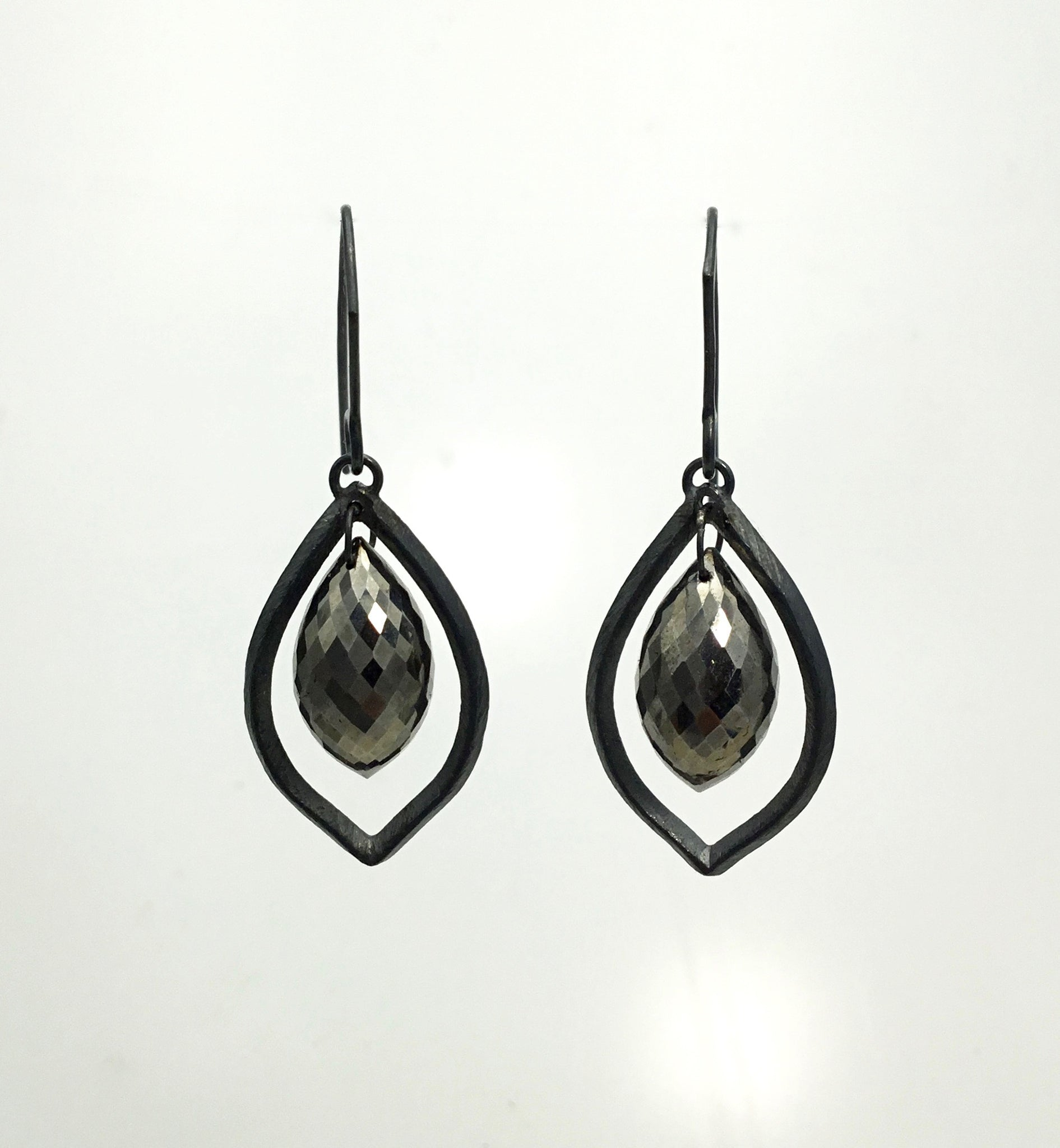 Heather Guidero Pyrite Earrings