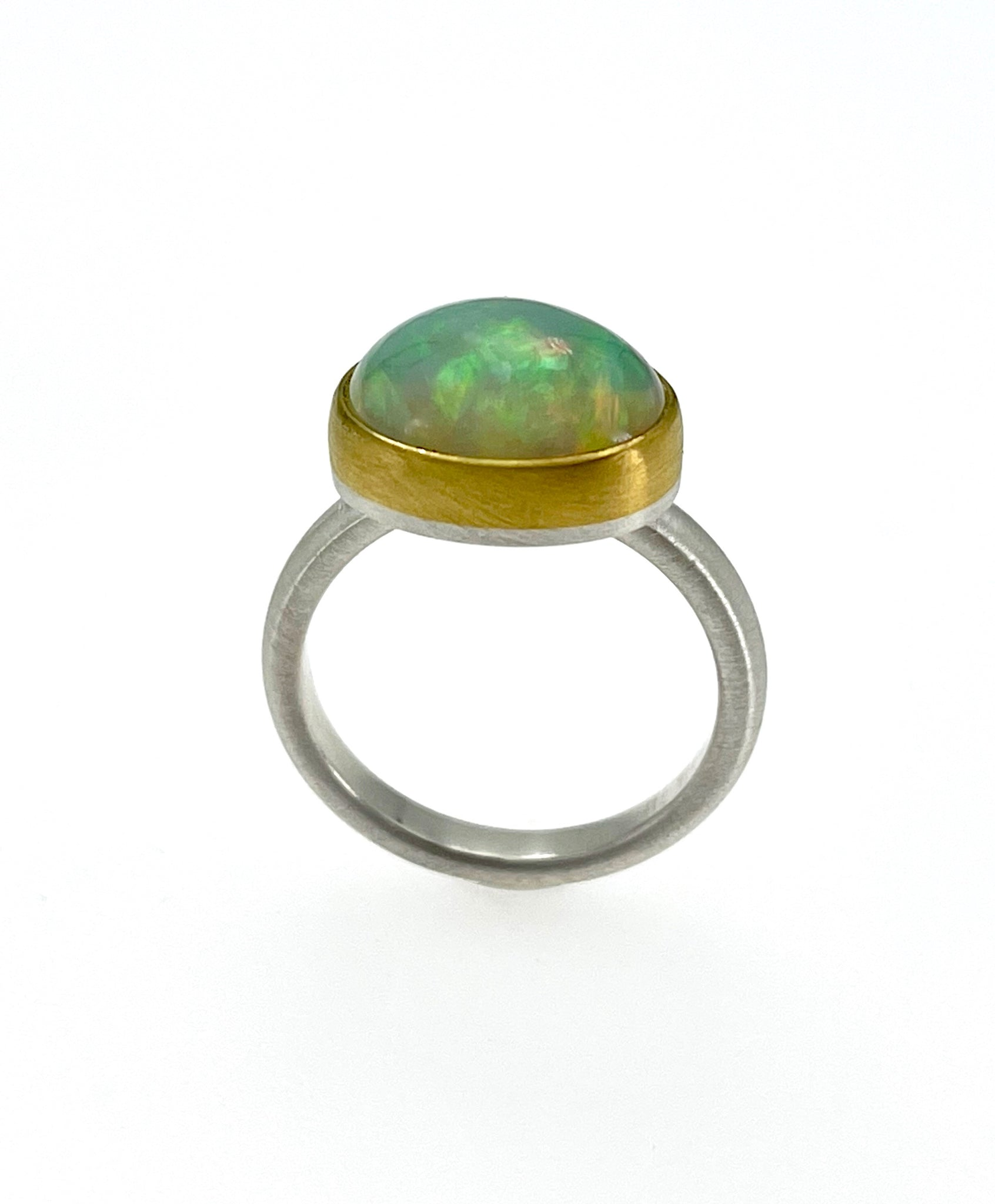 Heather Guidero Fiery Opal Ring
